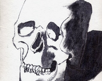 Finished Drawing Skull #4