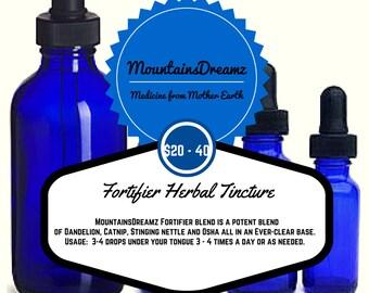 Herbal Organic Tincure, Herbal Fortifier