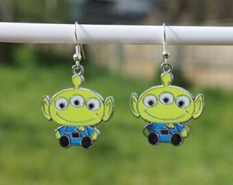 Toy Story Alien Earrings