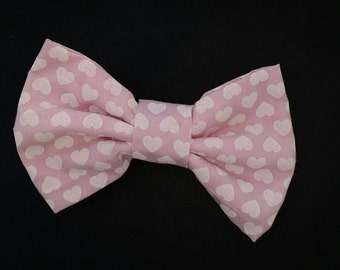 Baby Pink with Hearts Bow