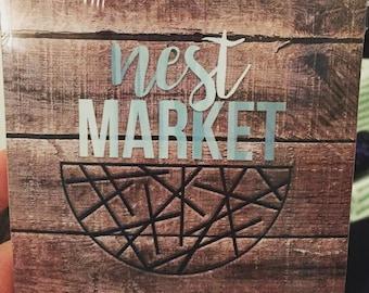 Nest Market Bumper Stickers