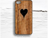 iPhone 6S Case Wood, iPhone 6S Plus Case Wood Print, iPhone 5s Case Heart, iPhone 6 Case, Rustic iPhone Case, Wood Texture iPhone Cover T11
