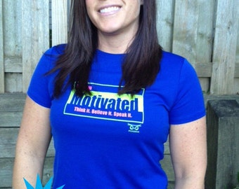 SALE Women's Running T-Shirt | Running Motivated | Medium