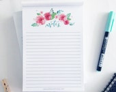 Notes 5x7 inch Notepad  Planner Organisation Stationery 50 sheets