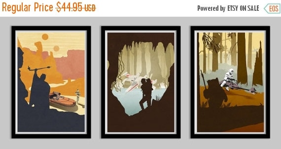 50% OFF Original Trilogy Poster Collection - 11x17