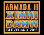 Armada II Ximni Dawn Cleveland 2016 Iron-On Patch