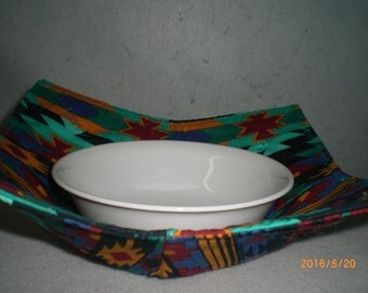 Bowl Hot Pad,  Southwestern Geometric Design #2