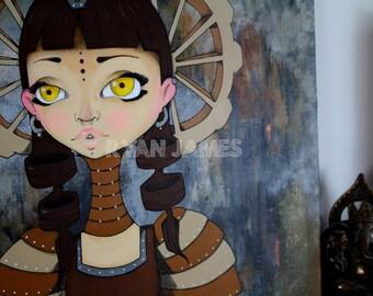 Steampunk Warrior Princess