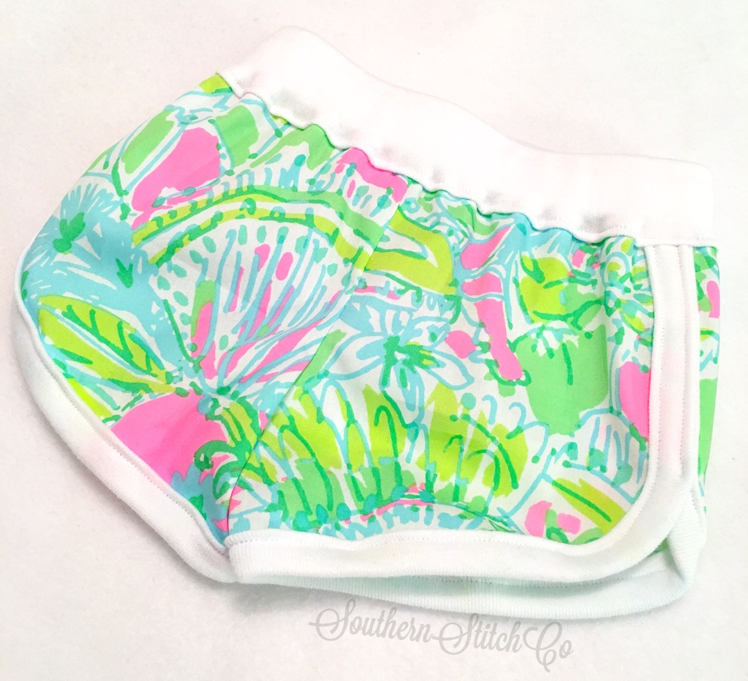 Baby Lounge Shorts in Lilly Pulitzer Coconut