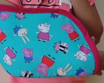 Peppa Pig sling for a broken arm, wrist or collar bone 2-6 years