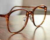 Vintage Gant Tortoiseshell Oversized Eyeglasses  NOS G 345 unisex style