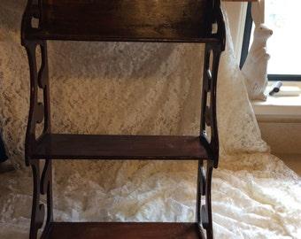 Ornate wall shelf/ gingerbread shelf/ Victorian shelf/ French county shelf/ curiousitybarn