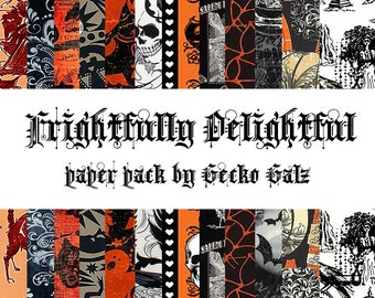 Frightful and Delightful Paper Pack