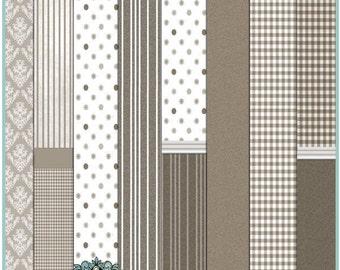 Dollhouse Printable Wallpaper Set 02