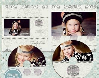 ON SALE Cd dvd Single Case, 2 cd/dvd Labels, psd templates - INSTANT Download