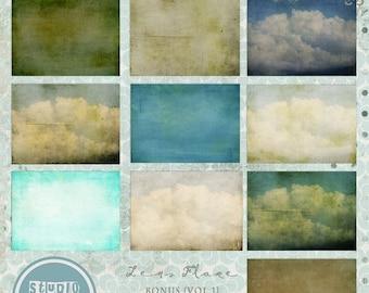 ON SALE Photoshop texture overlays vol.5 - INSTANT Download