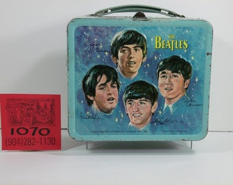 1960's Beatles Lunchbox