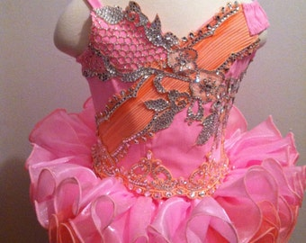 Pagean Dress Custom Medium Glitz