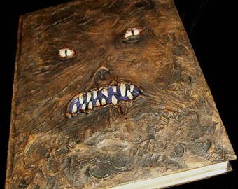 Gothic Evil NECRONOMICON Book of the Dead - Lost Worlds - REAL BOOK!!