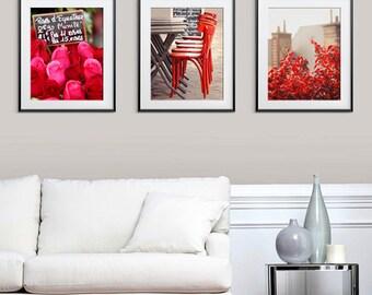 Any THREE Prints - Save 25%,Set of four photographs,Paris Art Prints Home decor Wall art Fine Art Photography,Paris photography Love France