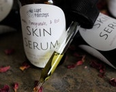 Botanical Skin Serum with Tamanu Pomegranate and Rose - Organic Oils for Face and Skin