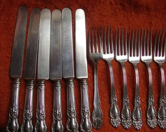 Reed and Barton Silver Plate Flatware