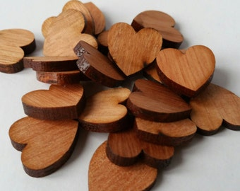 Pack of 5, Small wooden hearts, Valentine day heart, Wooden hearts, Valentine crafts, wood heart, valentines day crafts, valentine heart