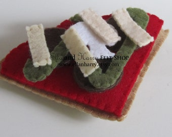 Felt Food Pizza Slice ~ READY TO SHIP