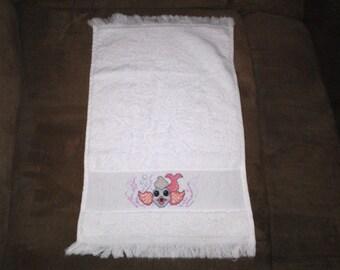 fish burp towel