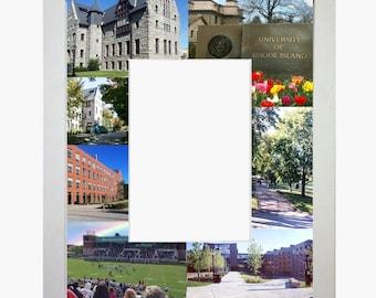 University of Rhode Island Picture Frame Photo Mat Personalized Unique Gift School Graduation