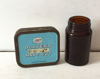 Vintage Players Navy Cut Tobacco Tin