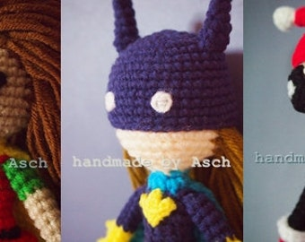 Finished Doll : Robin, Batgirl, Harely Quinn