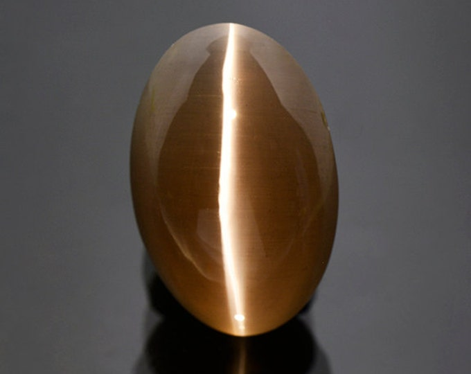 FLASH SALE Stunning Sillimanite Cat's Eye Cabochon from Tanzania 19.90 cts