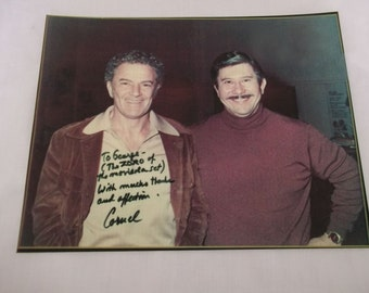 Cornel Wilde Photo Signed and Inscribed