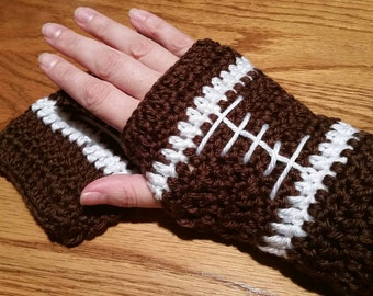Football gloves (fingerless)