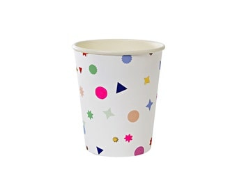 Toot Sweet Charms Paper Cups by Meri Meri, Party Supplies, Tableware