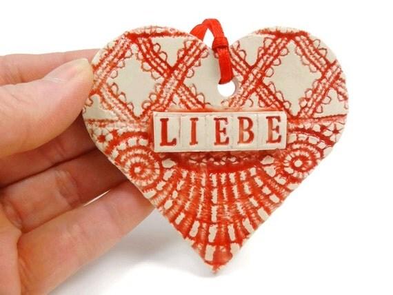 Liebe Ornament