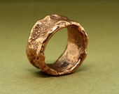 Copper Band, Recycled Ring, Copper Ring, Copper Jewelry, Running Jewelry, Wedding Band, Wedding Ring, Mens Ring, Ladies Ring, Recycled Band