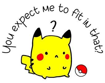 You expect me Pokémon Pikachu Tee