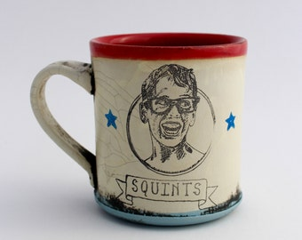 Squints Mug (Red)
