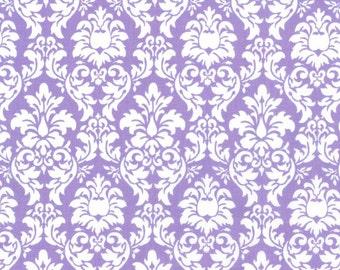 Petite Dandy Damask, 6557 Purple, by Michael Miller Fabrics