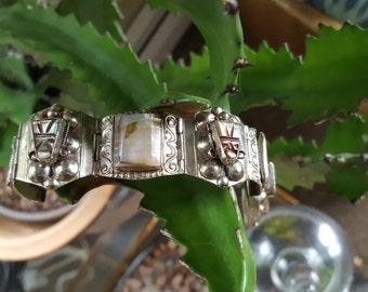 Abalone taxco bracelet