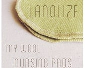 Lanolin Treatment for Wool Nursing Pads and Wool Backed Nursing Pads -- Lanolize Option -- Natural 100% Pure Lanolin