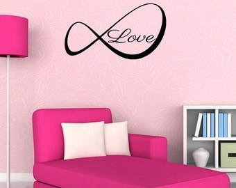Wall Decal Love Inspirational Quotes Wall Decals Wall Sticker Love Wall Quote Decal (JR309)