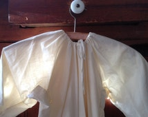 Primitive Vintage Toddler Nightgown, Sweet Pea Dress, Humble Repairs, Nursery Display