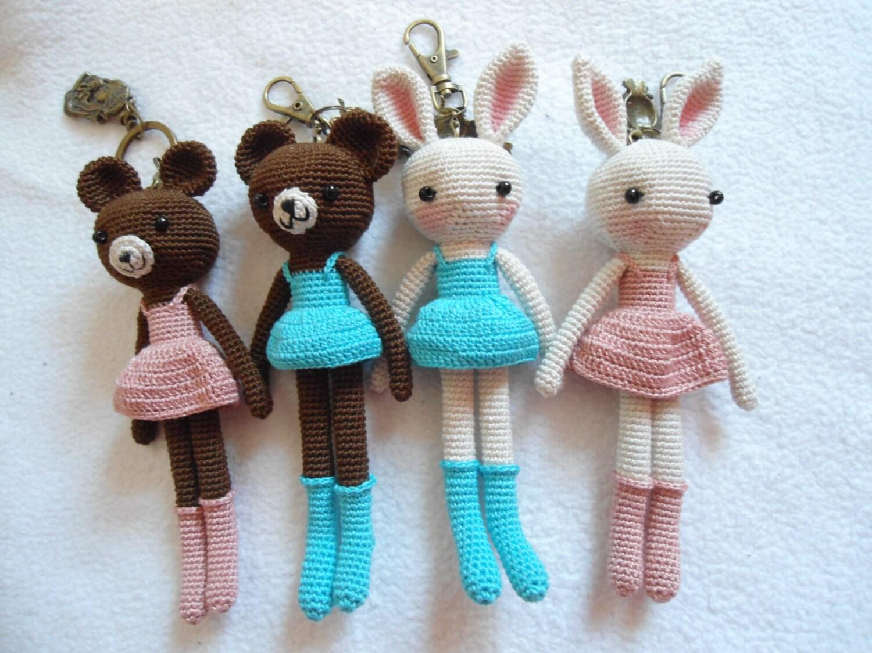 Amigurumi bag charm crochet pattern