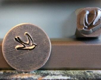 6mm Swallow Metal Design Stamp - SGUB-4