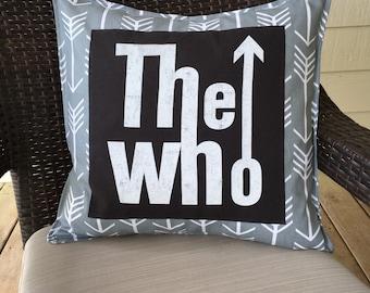 The Who pillowcase