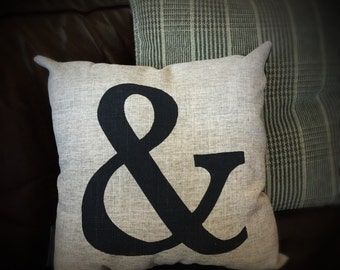 CLEAROUT Ampersand Pillow