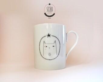 """Mug """"Gold Cat"""""""
